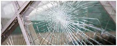 Quedgeley Smashed Glass